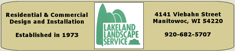 Lakeland Landscape Service Residential and Commercial Design and Installation